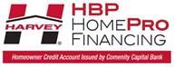 harvey homepro financing