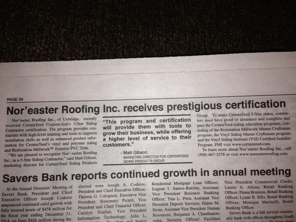 nor'easter contractors inc.